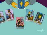 Tarot Cards couch gag