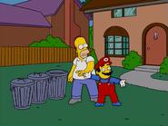 HomerAndNed'sHailMaryPass-Homer&Mario