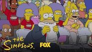 Homer Nervously Watches As Bart Plays Basketball Season 28 Ep