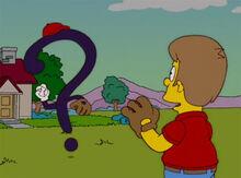 Homer criança pai interrogação