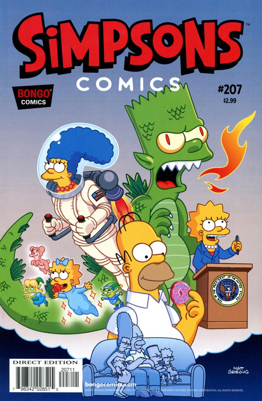 Simpsons Comics 207