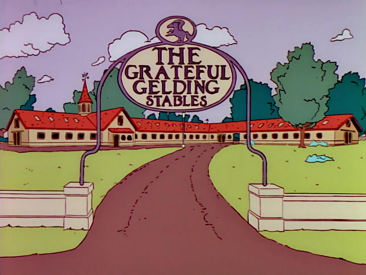 The Grateful Gelding Stables