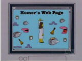 Homer's Web Page