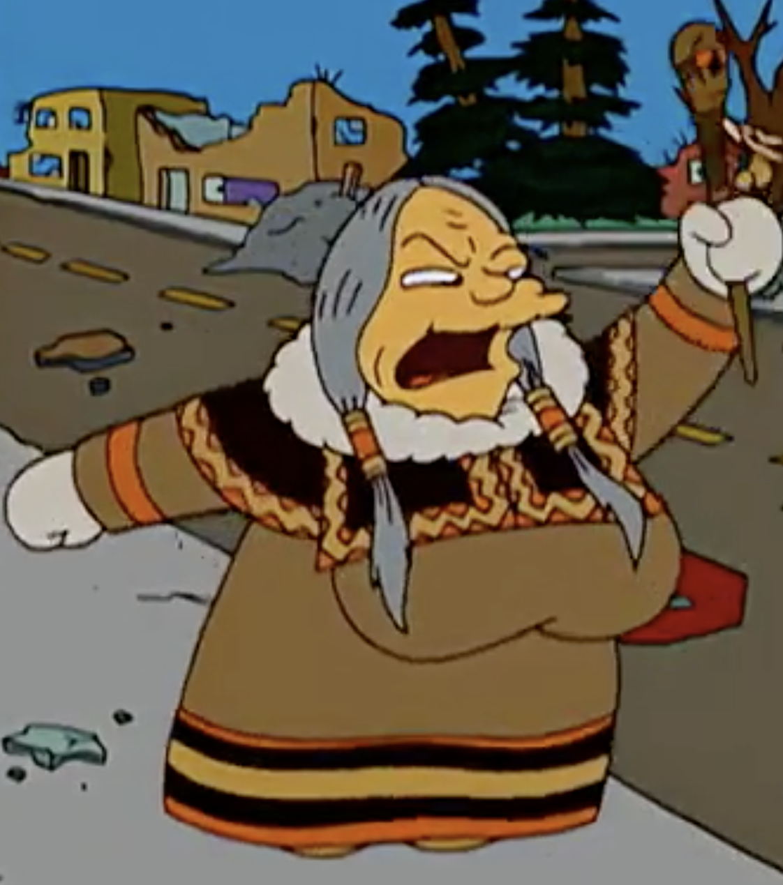 Medicine Woman Simpsons Wiki Fandom