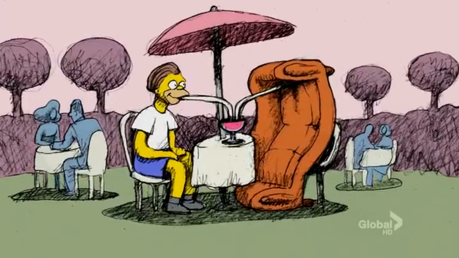 First Bill Plympton couch gag