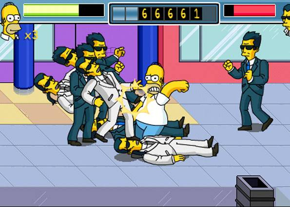Homer Simpson ganha jogo para o iPhone