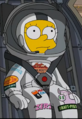 Lisa spacesuit