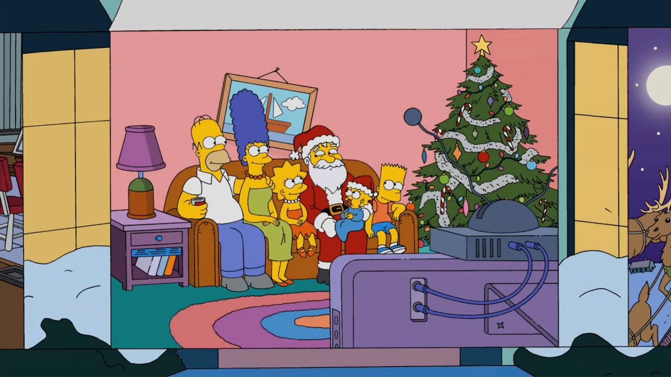 Advent Calendar couch gag