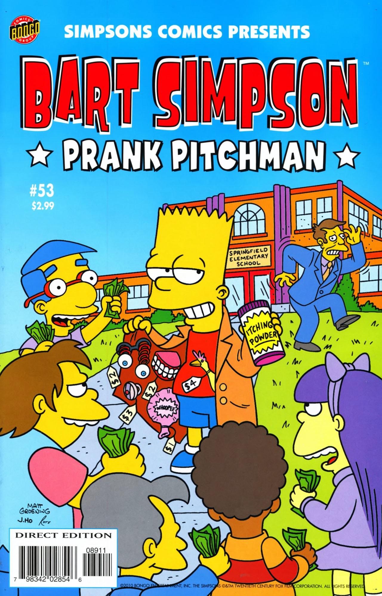 Bart Simpson Comics 53