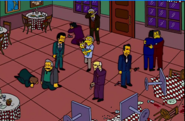 Fat Tony's Gang, the Castellaneta Family, and President Crying by Maggie's Innocence Touching Them 2