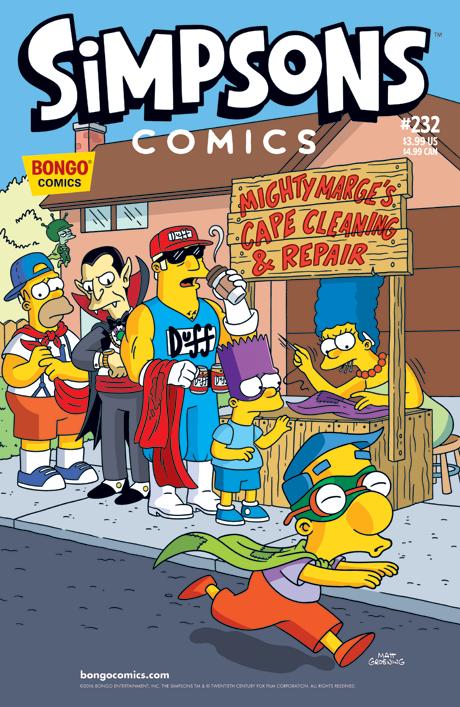 Simpsons Comics 232