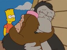 Bart toottoot abraça teeny