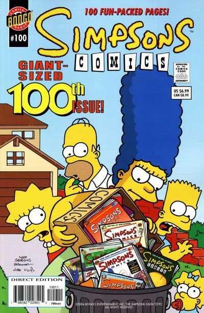 Simpsons Comics 100