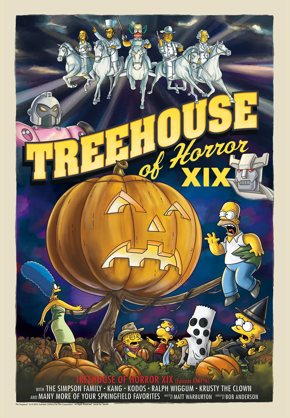 Treehouse of Horror XIX