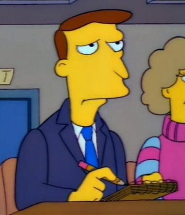 Reporter 1 (Marge vs. the Monorail)