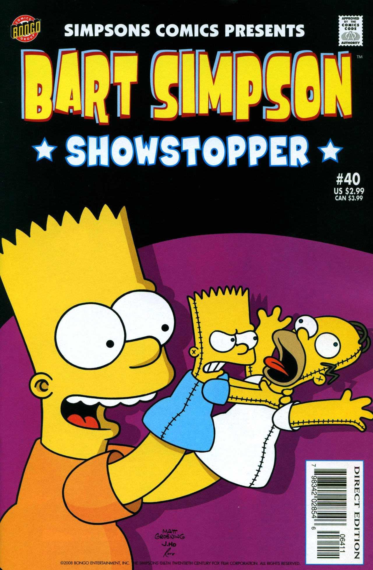 Bart Simpson Comics 40