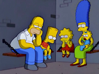 The Simpsons in jail