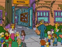 Escola estrago vapor