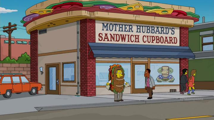 Mother Hubbard's Sandwich Cupboard