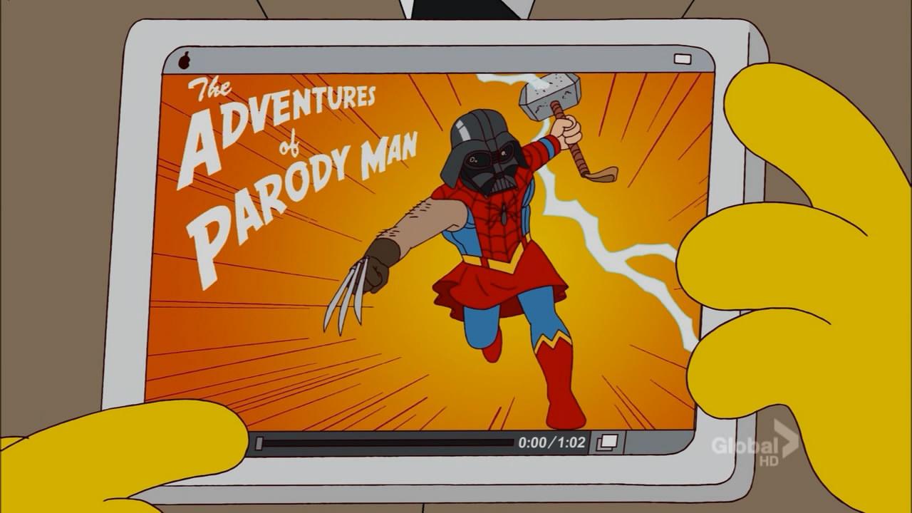 The Adventures of Parody Man