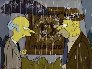 Grand-Père Simpson et le trésor maudit