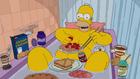 HomerSingingintheTub