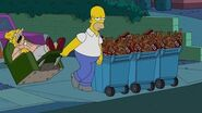 THE SIMPSONS It's Garbage Day FOX