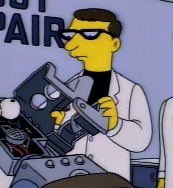 Itchy & Scratchy Land Scientist 2