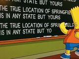 Criador dos Simpsons desmente Springfield em Oregon e Brinca na cena do Quadro negro.