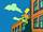 Bart Flying at School