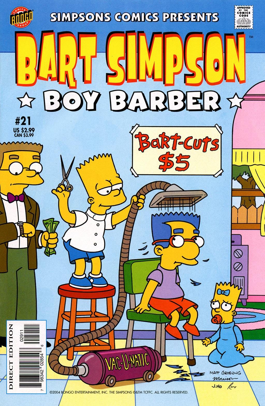 Bart Simpson Comics 21