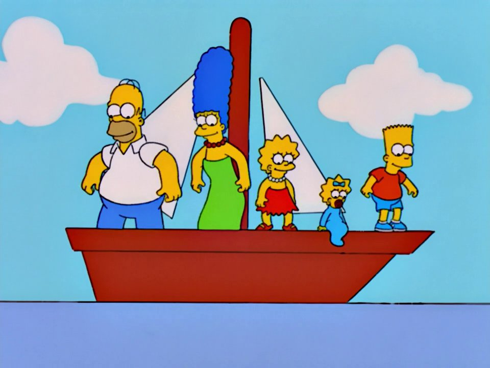 Boat Painting couch gag
