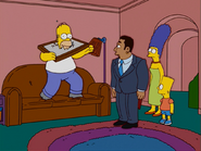 HomerAndNed'sHailMaryPass-HomerSellsTheRightsToHisDance