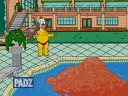Krustys mansion pool-the dad who knew too little