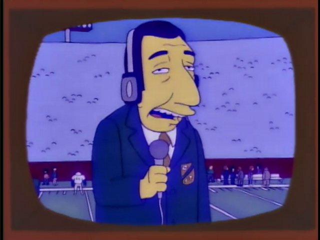 Super Bowl Announcer