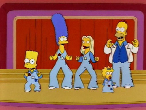 The Simpson Family Smile-Time Variety Hour