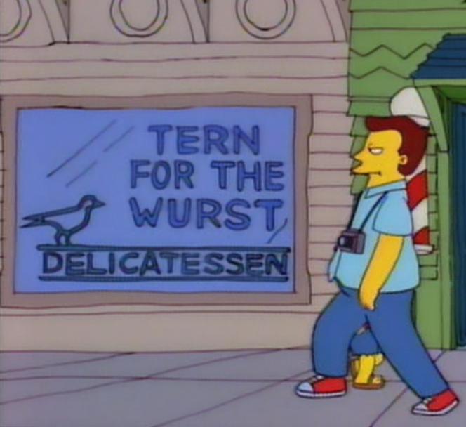 Tern For The Wurst Delicatessen