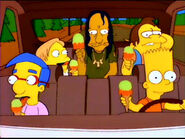 Bart girandolone I Simpson