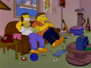 Homer and Barney young in I Married Marge