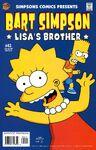 Bart Simpson-Lisa's Brother