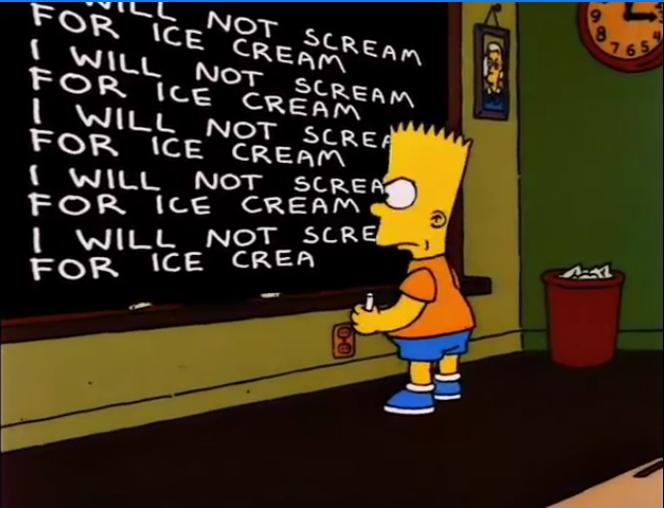 "Lisa Gets an ""A""/Gags"