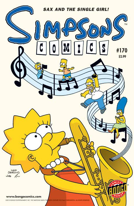 Simpsons Comics 170