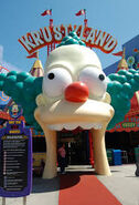 The Simpsons Ride Entrance