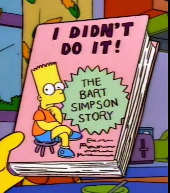 I Didn't Do It: The Bart Simpson Story