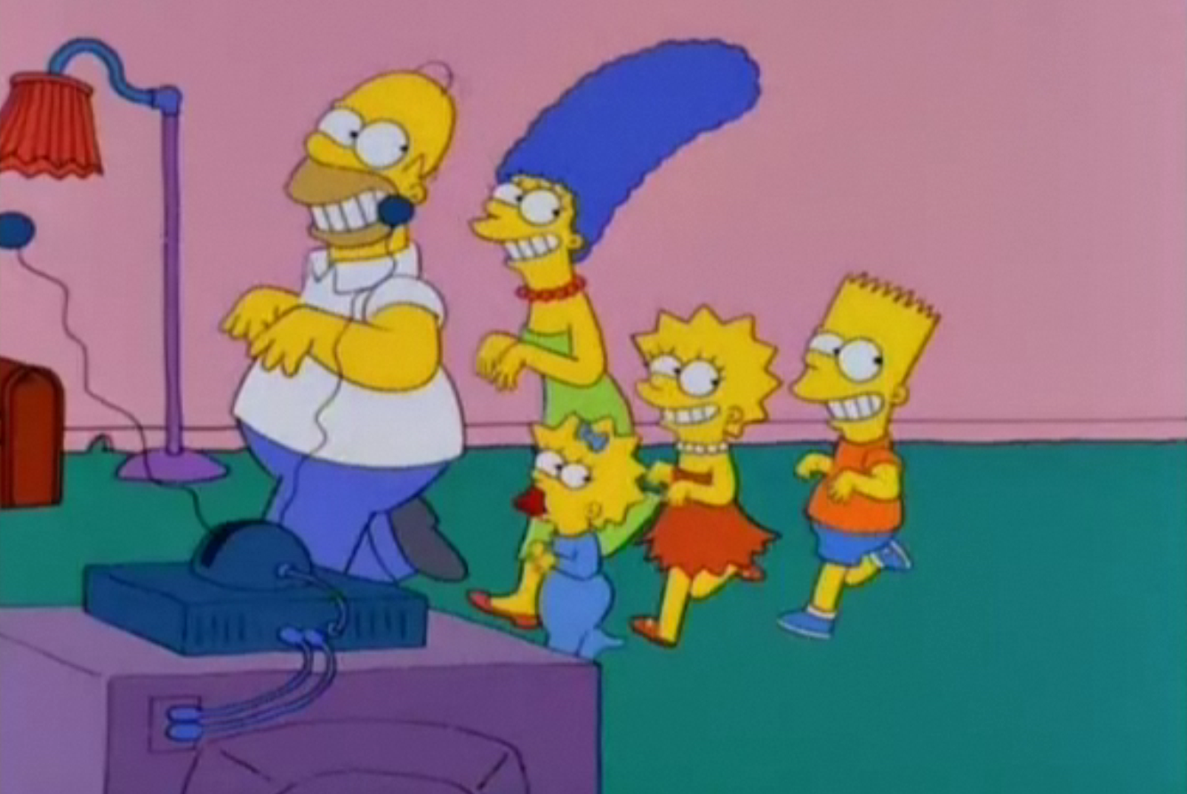 Repeating Room couch gag