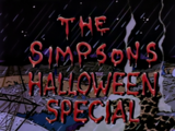 The Simpsons Halloween Special - Title Card