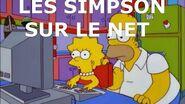 Parlons Simpson 5 Les Simpson sur le net