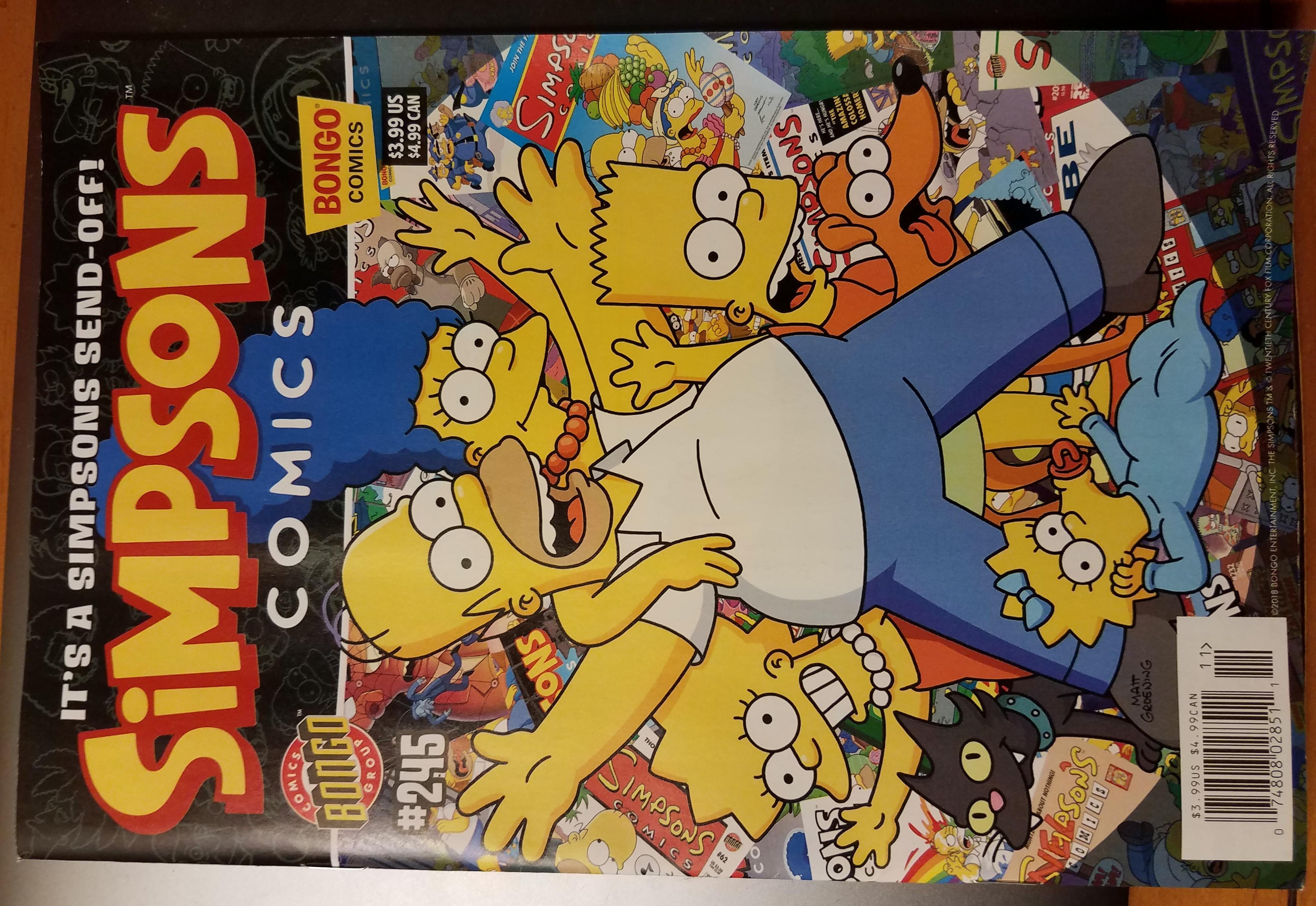 Simpsons Comics 245