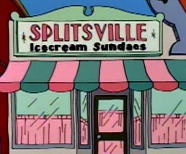 Splitsville Icecream Sundaes