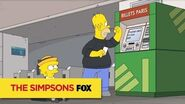 "THE SIMPSONS A Snap from ""To Courier with Love"" ANIMATION on FOX"